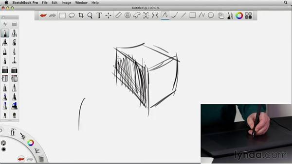 Drawing freehand for 3d sketch program