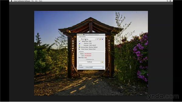 Color calibrating your Cintiq display: Wacom Essential Training