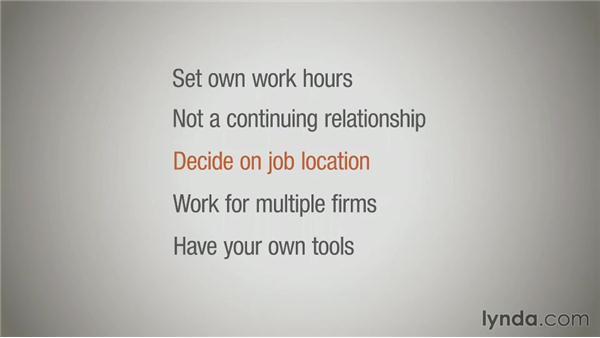 Subcontractor versus employee: Running a Design Business: Freelancing