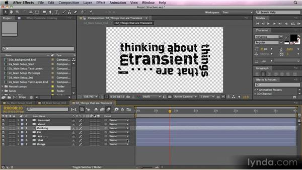 Making Photoshop text editable: Kinetic Typography Techniques with After Effects