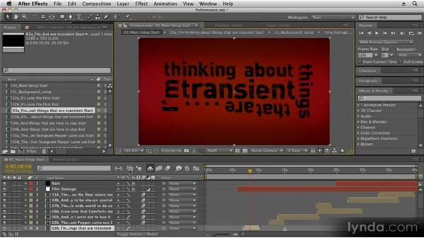 Hidden switches and buttons: Kinetic Typography Techniques with After Effects