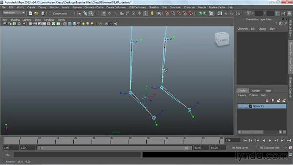 Creating controls: Working with HumanIK Rigs in Maya