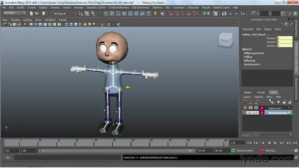 Creating animation clips in the Trax Editor: Working with HumanIK Rigs in Maya
