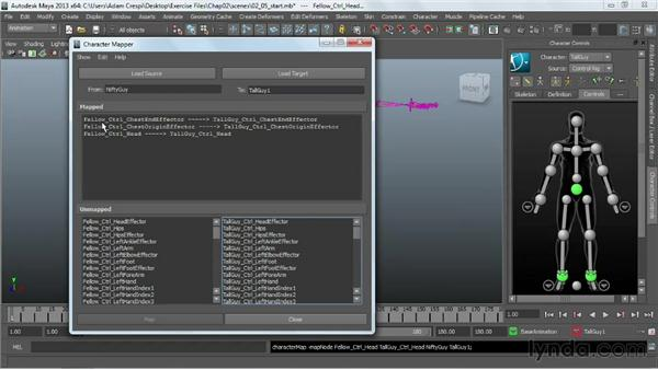 Editing animation in the Trax Editor: Working with HumanIK Rigs in Maya