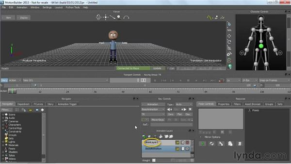 Updating animation: Working with HumanIK Rigs in Maya