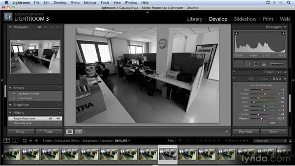 Making batch adjustments with Lightroom: Time-Lapse Photography Workshop