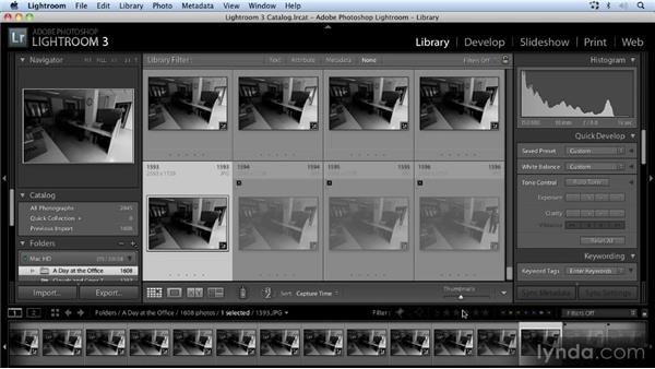 Reviewing and processing the images: Time-Lapse Photography Workshop