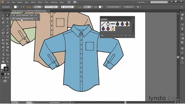 The benefits of using symbols: Illustrator for Fashion Design: Drawing Flats
