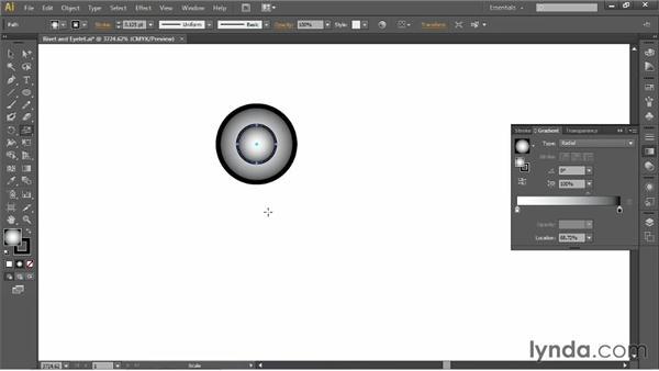 Creating rivet and eyelet symbols: Illustrator for Fashion Design: Drawing Flats