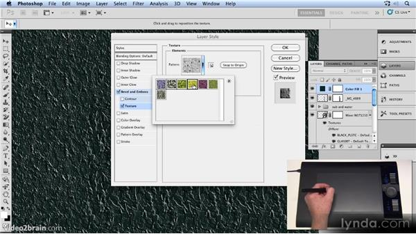 Adding corrosion: Up and Running with 3D in Photoshop CS5 Extended
