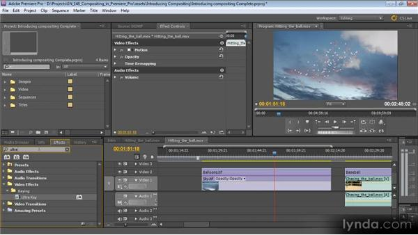 Introducing Premiere Pro: The compositing program: Compositing with Premiere Pro CS5.5