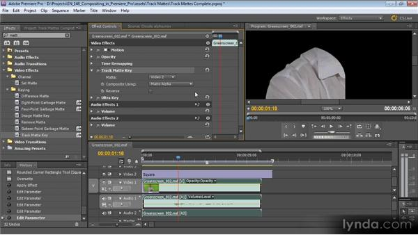 Understanding track mattes: Compositing with Premiere Pro CS5.5