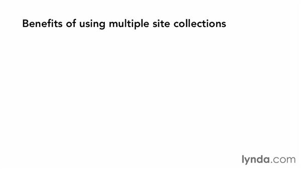 Site collections: The basics: SharePoint 2013 Essential Training