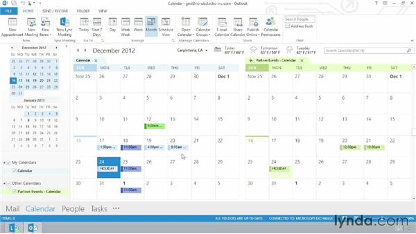 Outlook 2013 and SharePoint: SharePoint 2013 Essential Training