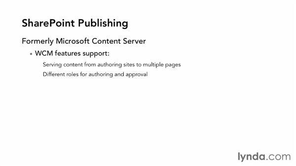 Understanding SharePoint publishing: SharePoint 2013 Essential Training