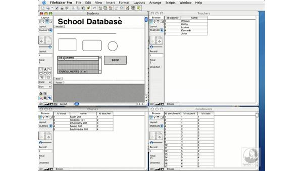 exploring layout tools: FileMaker Pro 7 Essential Training