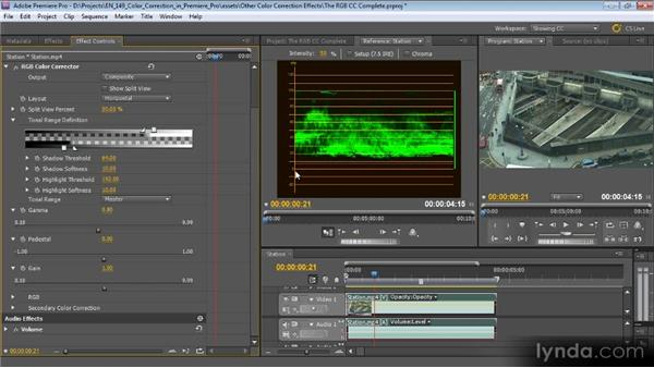 The RGB Color Corrector: Color Correction with Premiere Pro CS5.5