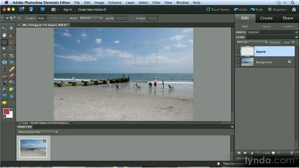 Understanding layers: Getting Started with Photoshop Elements 10