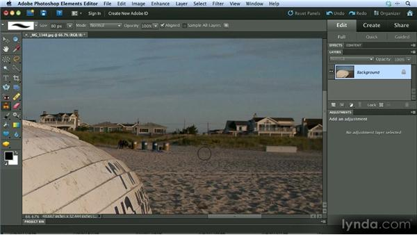 Retouching: Getting Started with Photoshop Elements 10