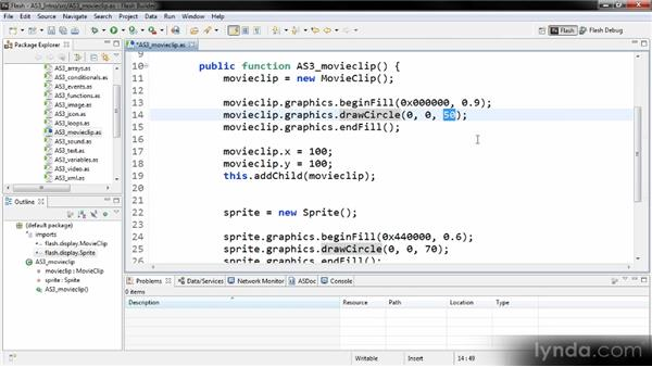 MovieClip and Sprite: Getting Started with ActionScript