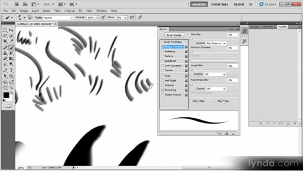 Creating a fat sketch pencil: Creating a Digital Illustration with Photoshop CS5