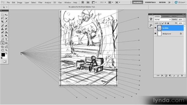 Constructing the perspective: Creating a Digital Illustration with Photoshop CS5