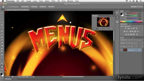 Navigating documents: Up and Running with Photoshop CS6