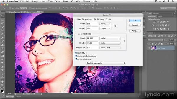Understanding resolution: Up and Running with Photoshop CS6