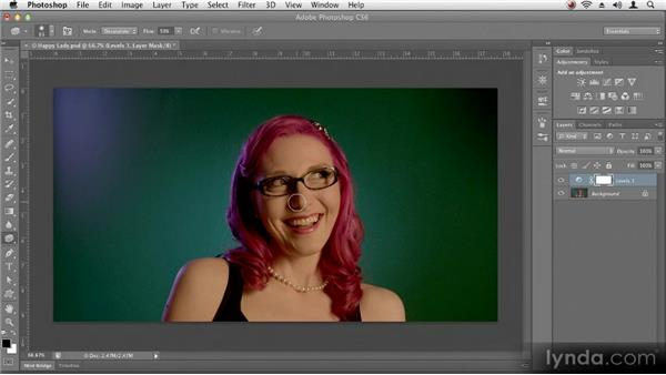 Fixing problems automatically: Up and Running with Photoshop CS6