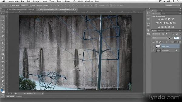 Making a collage: Up and Running with Photoshop CS6