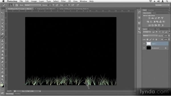 Painting: Up and Running with Photoshop CS6