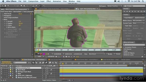 Beyond the Roto Brush: Advanced Compositing, Tracking, and Roto Techniques with After Effects