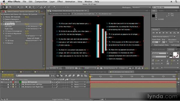 After Effects workflow: Stereoscopic 3D Motion Graphics with After Effects