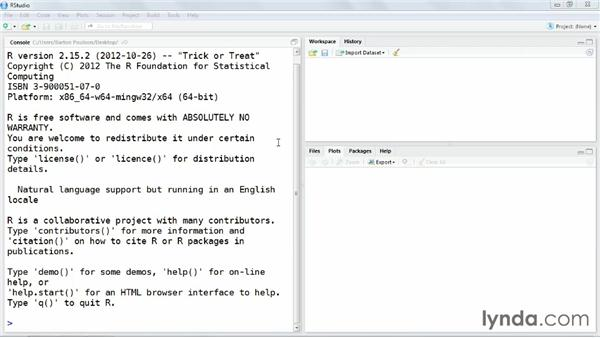 Using RStudio: Up and Running with R