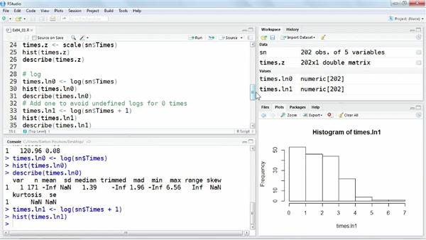 Recoding variables: Up and Running with R