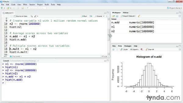 Computing new variables: Up and Running with R