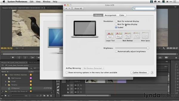 High-resolution viewing with a HiDPI user interface: Premiere Pro: Creative Cloud Updates