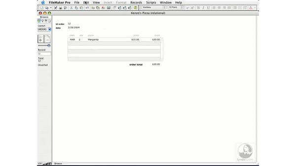 creating and using summary fields: FileMaker Pro 7 Essential Training
