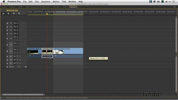 Selecting and nudging clips: Premiere Pro: Creative Cloud Updates