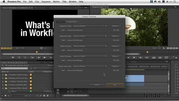 Auto-Save controls: Premiere Pro: Creative Cloud Updates