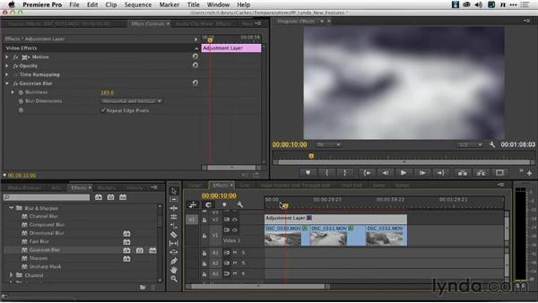 The new GPU-accelerated Blur effect: Premiere Pro: Creative Cloud Updates