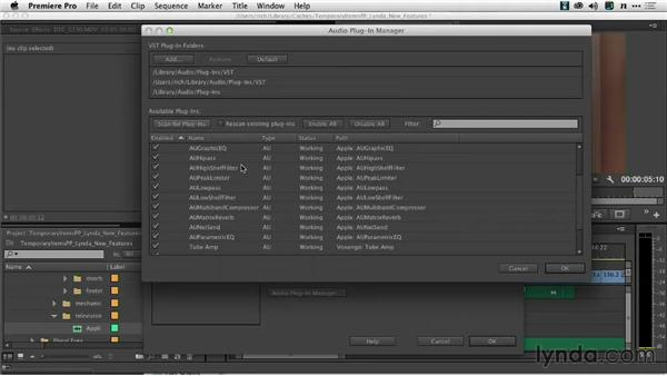 Support for third-party effects: Premiere Pro: Creative Cloud Updates