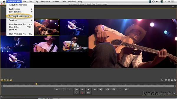 Customizing multicamera keyboard shortcuts: Premiere Pro: Creative Cloud Updates