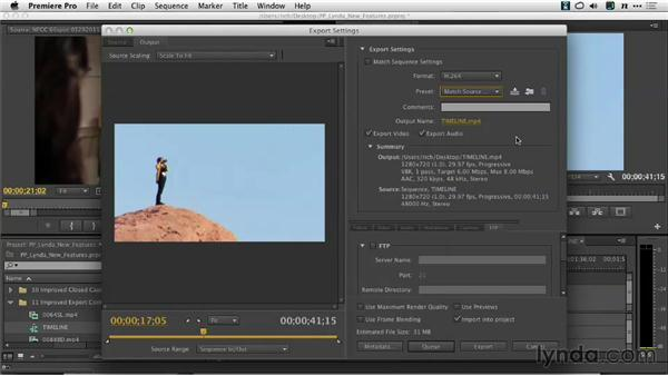 Streamlining H.264 and MPEG2 encoding with matched encoding settings: Premiere Pro: Creative Cloud Updates