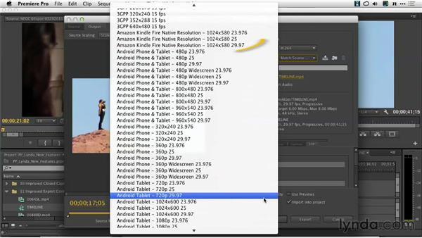 New device presets: Premiere Pro: Creative Cloud Updates