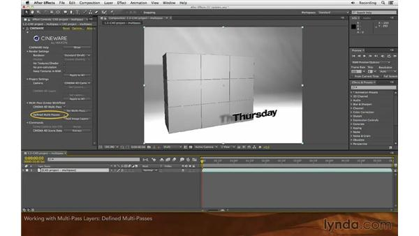 Working with multipass layers: After Effects: Creative Cloud Updates
