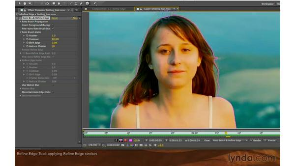 The Refine Edge tool: After Effects: Creative Cloud Updates