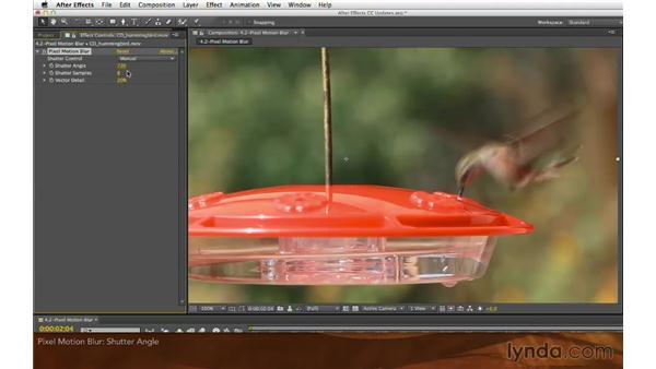 Pixel Motion Blur: After Effects: Creative Cloud Updates