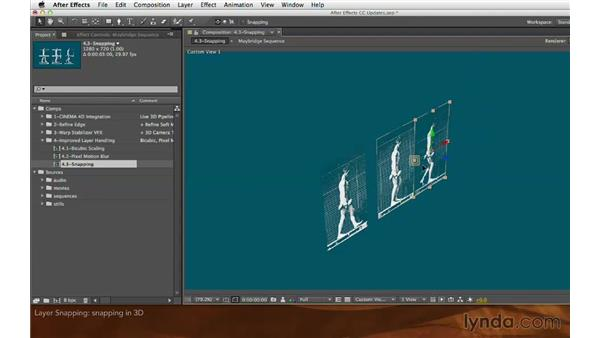 Layer snapping: After Effects: Creative Cloud Updates
