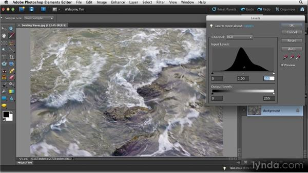 Sophisticated brightness and contrast: Quick Fixes with Photoshop Elements 10